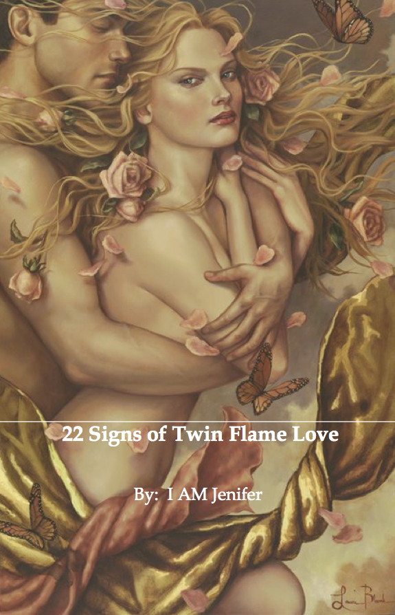 "Free E-Book ""22 Signs of Twin Flame Love"""